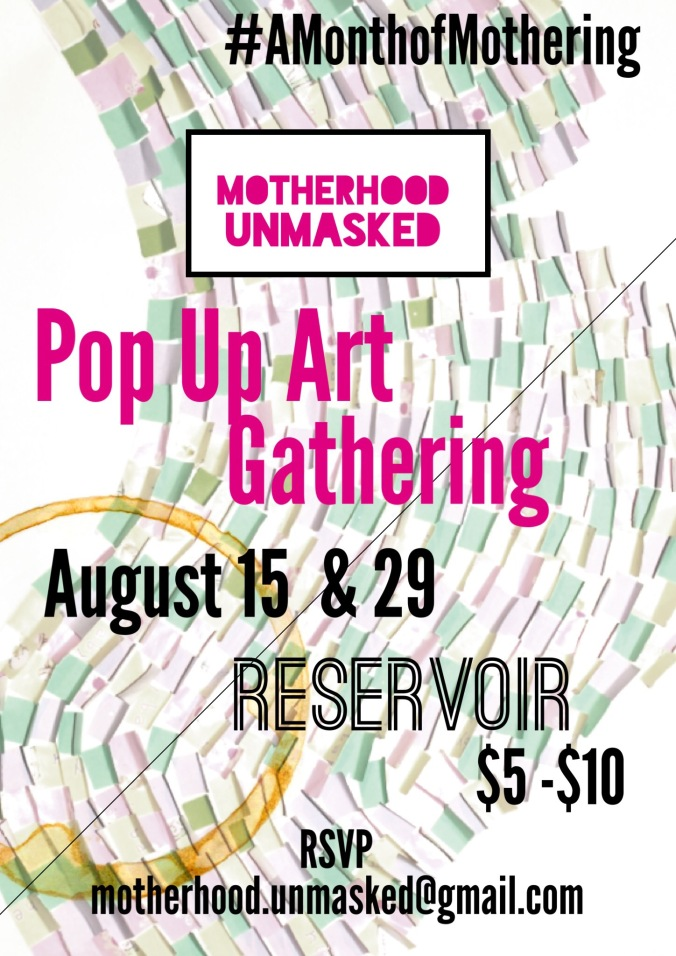 Pop Up Art Gathering